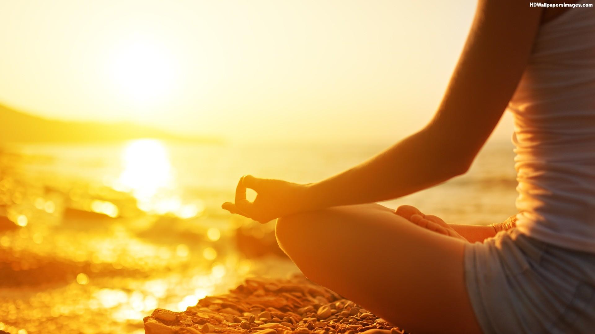 meditation sun